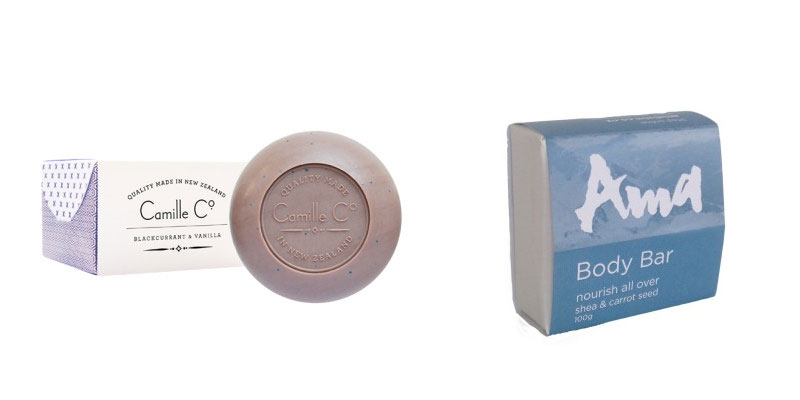Camille Soap and Ama Body Bar