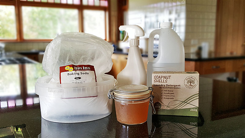 Safe Homemade Cleaning Products - Easy