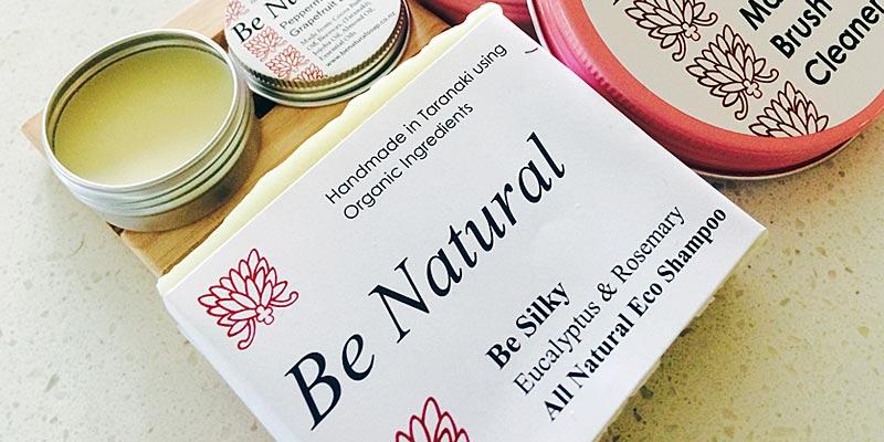 Be Natural Solid Shampoo Bars