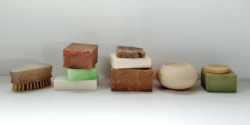 Solid Shampoo Bars Selection