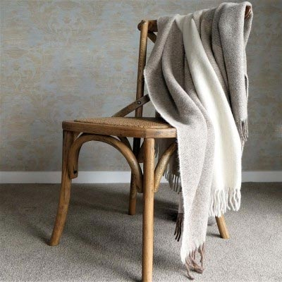 Natural Llama Fleece Throw Eco Friendly Decor Ideas