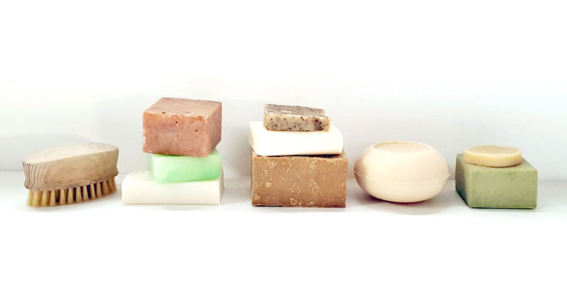 Solid Shampoo Bars Selection