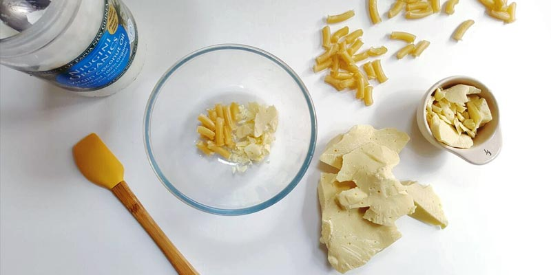 Ingredients for How to Make Lip Balm