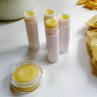DIY Lip Balm Tubes & Pots