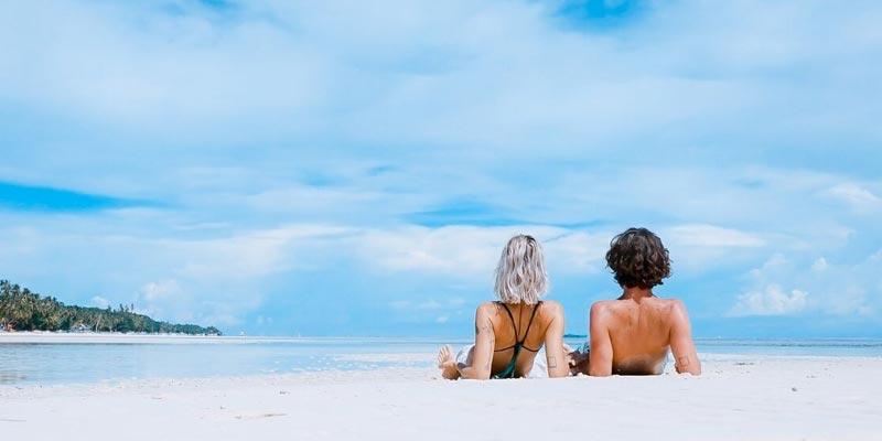 Natural Sunscreen at the beach