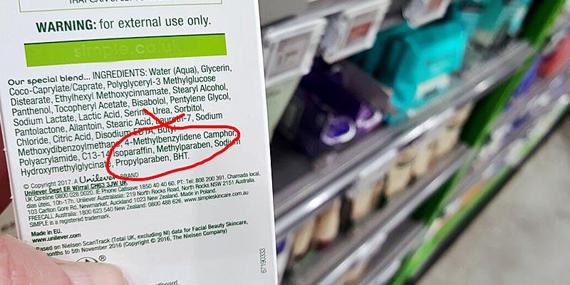 Paraben Free? - Methylparaben and Propylparaben on the ingredients list
