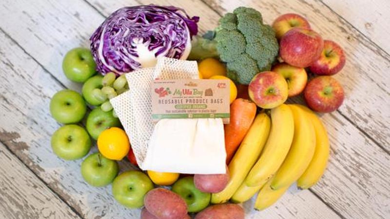 Reusable Produce Bags for grocery shopping