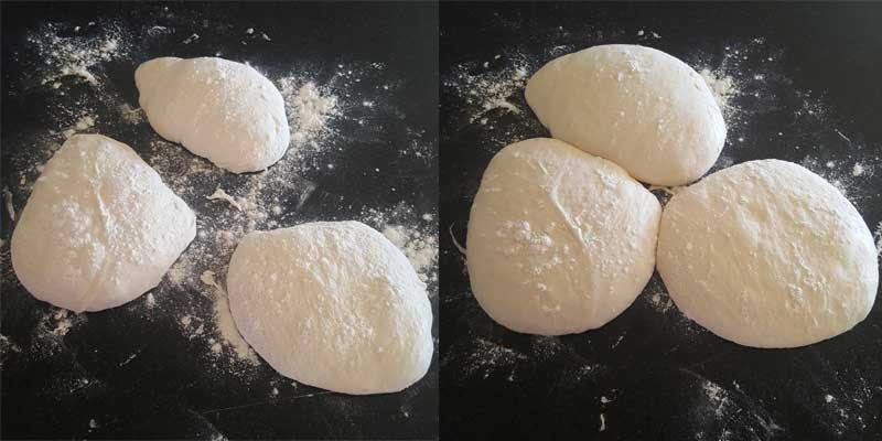 Ciabatta Dough Proving