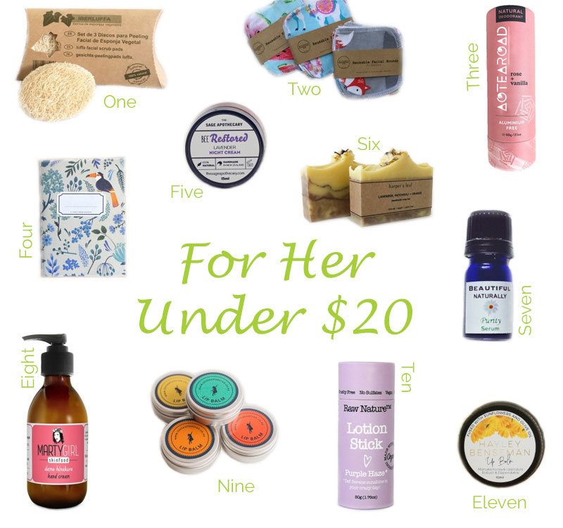 Gifts for Her Under $20 Collection Christmas 2019