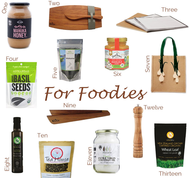 Gifts for Foodies Collection Christmas 2019