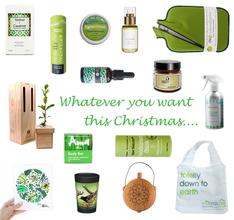 Whatever You Want for Christmas 2019 Gift Selection Green