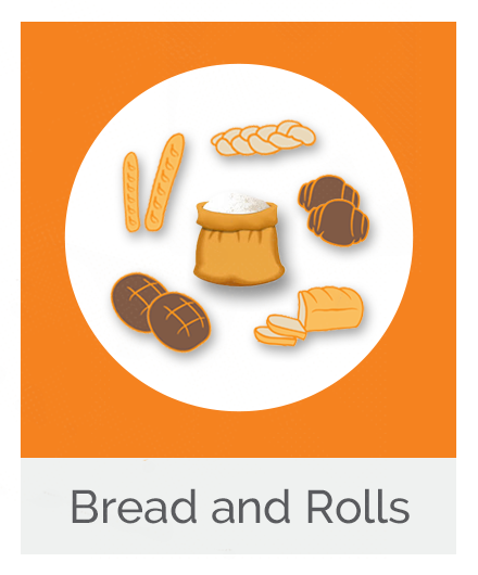 Bread, Flour and Bread Rolls