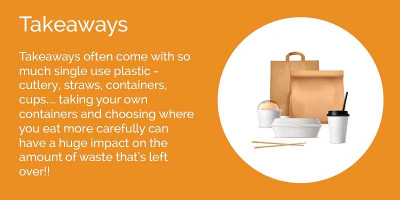 Limit your takeaway waste