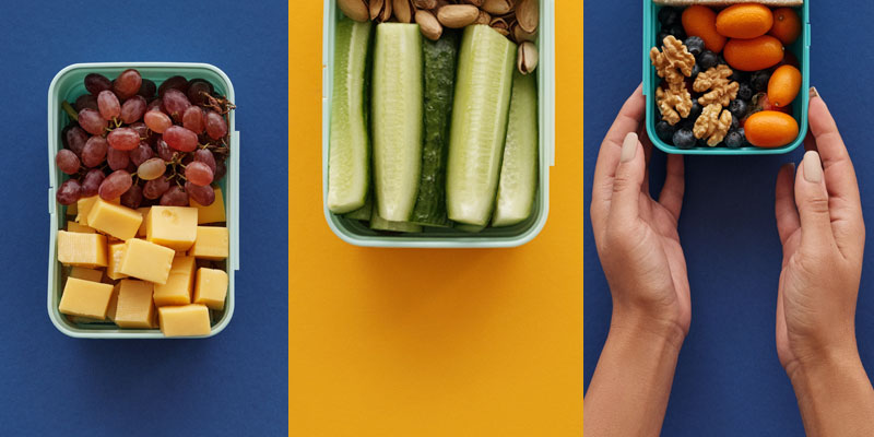 Lunchboxes Full of Snacks