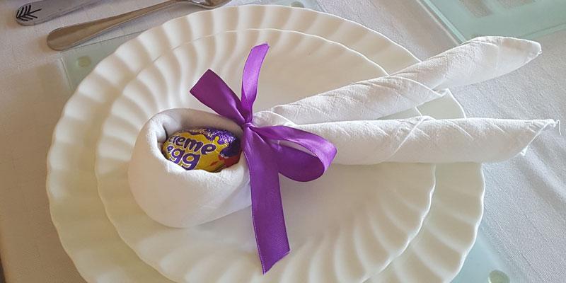Eco Easter Egg Decoration