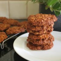 Stack of Anzac Biscuits