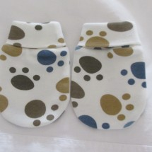 Adorable Organic Cotton  Anti Scratch Baby Mittens # 5