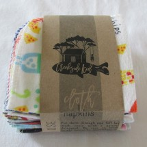 Unpaper Towels Kids Cloth Napkins 12 Lunch Box Napkins Image