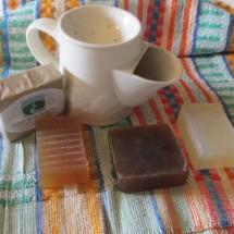 All Natural Chamomile Shaving Soap