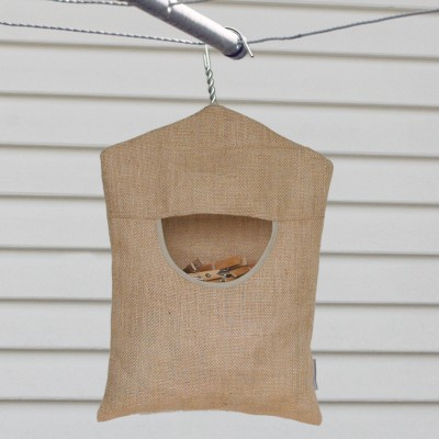 Peg Pouch | Hessian Image