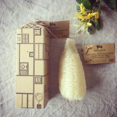 Baby Bath Organic Luffa- TheLuffaRThouseProject Toni F Image