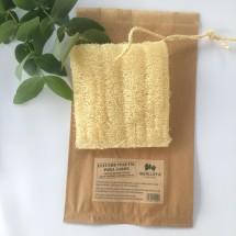 Luffa soap pouch