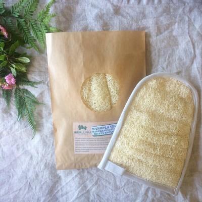 Luffa Glove (linen range) Image