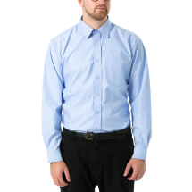 Blue Chambray  100% Organic Cotton Shirt Image