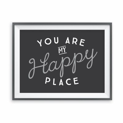 Happy Place Print Image