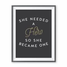 Hero Print