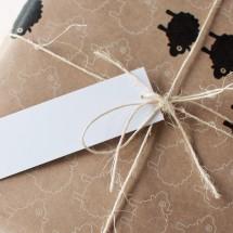 Bah Bah Black Sheep Wrapping Paper