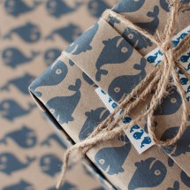 Whale of a Time Wrapping Paper