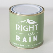 Right as Rain Candle
