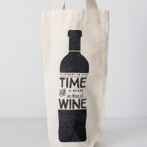 Time for Wine - Wine Tote