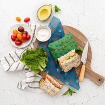 Munch Organic Beeswax Wraps Medium (twin pack)