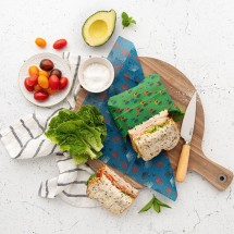 Munch Organic Beeswax Wraps Medium (twin pack) Image