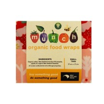 Munch Organic Beeswax Wraps Small (twin pack)