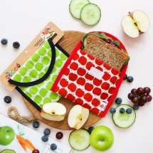 Organic Cotton Sandwich Baggies