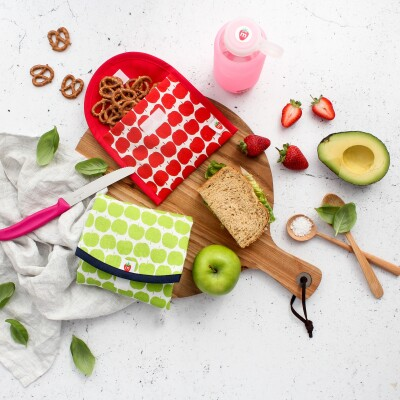 Organic Cotton Sandwich wrap Image