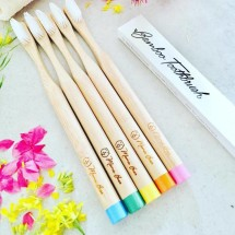 Bamboo Toothbrush Image