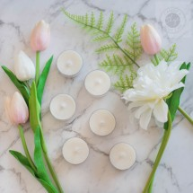 Unscented Tea Lights