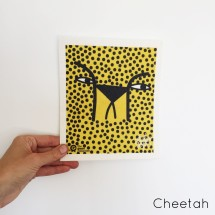 SPRUCE Biodegradable Dishcloth | Cheetah Image