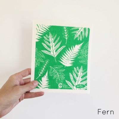 SPRUCE Biodegradable Dishcloth | Ferns Image