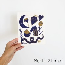 SPRUCE Biodegradable Dishcloth | Mystic Stories