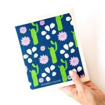 SPRUCE Biodegradable Dishcloth | Cactus Image