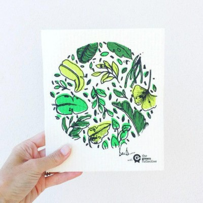 SPRUCE Biodegradable Dishcloth   Green Orb Image