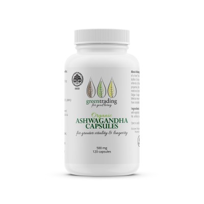 Organic Ashwagandha Capsules 120 Image