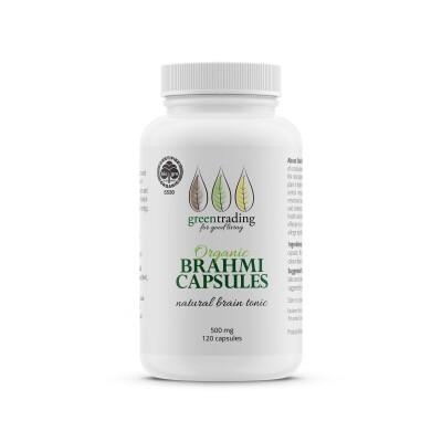 Organic Brahmi Capsules 120 Image