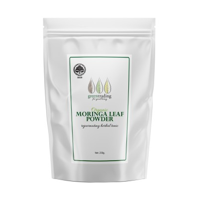 ORGANIC MORINGA LEAF POWDER 250GM Image