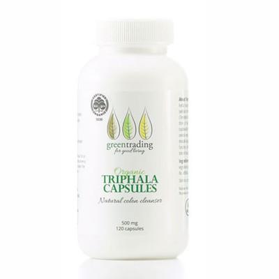 Organic Triphala Capsules 120 Image